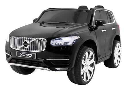 Volvo/XC90/2-Sitzer/Kinderauto/Kinder Elektroauto/Kinder Auto/lizensiert/schwarz lackiert/