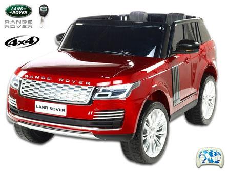 Land Rover/Range Rover/2 Sitzer/Kinderauto/Kinder Elektroauto/Kinder Auto/lizensiert/weinrot lackiert/