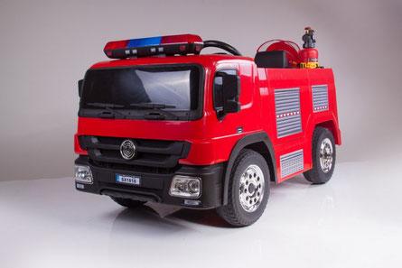 Feuerwehr/Kinder Feuerwehr/Fire Truck/ Kinderauto/Kinder Elektroauto/Feuerwehr Helm/Wasserspritze/