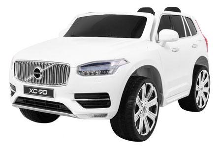 Volvo/XC90/2-Sitzer/Kinderauto/Kinder Elektroauto/Kinder Auto/lizensiert/weiß/
