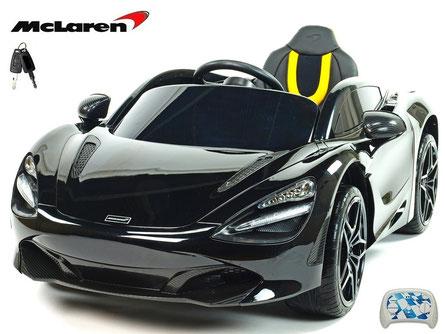 McLaren/2019/4x45W/Kinderauto/Kinder Elektroauto/lizensiert/schwarz lackiert/