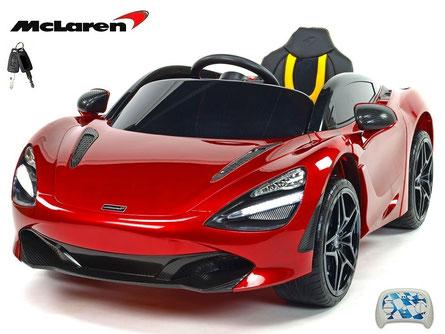 McLaren/2019/4x45W/Kinderauto/Kinder Elektroauto/lizensiert/weinrot lackiert/