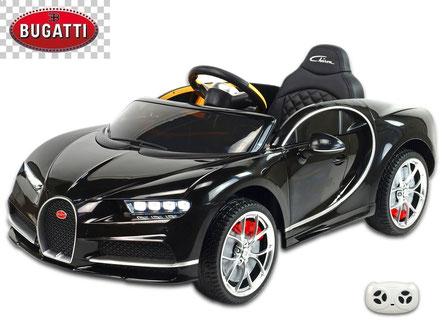 Bugatti/Chiron/Kinderauto/Kinder Elektroauto/lizensiert/rot schwarz/Fernbedienung/