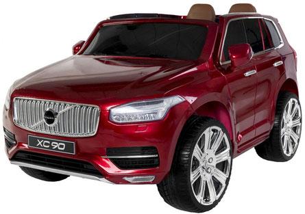 Volvo/XC90/2-Sitzer/Kinderauto/Kinder Elektroauto/Kinder Auto/lizensiert/weinrot lackiert/