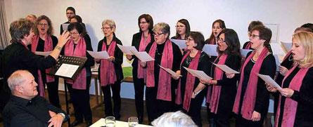 Der Chor - das musikalische Aushängeschild der Pfarrei Ast