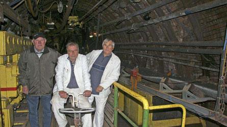 Freuen sich über die vielen Museumsbesucher: (v.l. Franz Idkowiak, Peter Thamm und Erich Brünig.