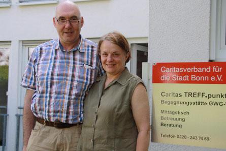 Albert und Susanne Schmitz sind verantwortlich für die Röttgener Begegnungsstätte