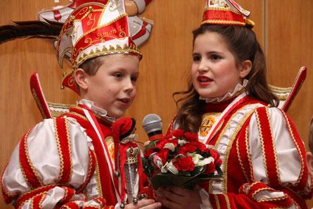 Prinz Simon I. und Prinzessin Lilli II.  von Röttgen/ Ückesdorf