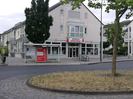 Post entfernte zentralen Briefkasten in Ückesdorf Mitte an der Busendhaltestelle