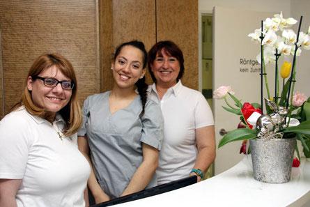 Eva Shoris (li.) und ihr Team freuen sich auf die ersten Patienten