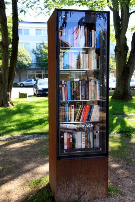 So oder so ähnlich soll er aussehen, Röttgens neuer Bücherschrank