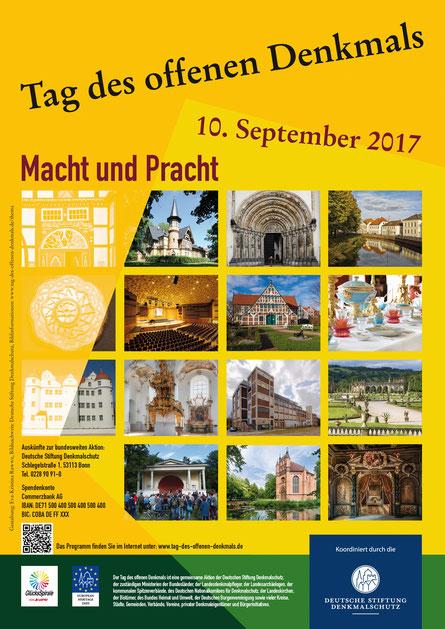 Jetzt anmelden und am 10. September mitmachen beim Tag des Offenen Denkmals. Foto: Deutsche Stiftung Denkmalschutz, Bonn