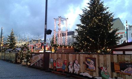 Weihnachtsmarkt Santa Pauli 2016 am Spielbudenplatz Hamburg St. Pauli