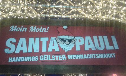 SANTA PAULI HAMBURGS GEILSTER WEIHNACHTSMARKT 2017