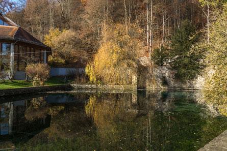 © Traudi – Urspring-Quelle beim Kloster Urspring bei Schelklingen
