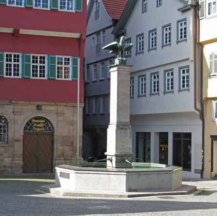 © Traudi 2016 - Marktbrunnen oder Adlerbrunnen