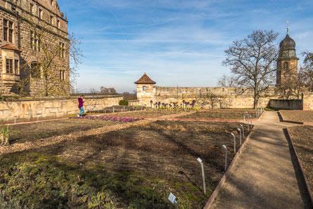 © Traudi - historischer Burggarten