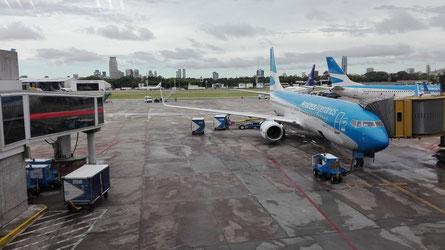 Fliegen mit Kindern, Reisen mit Kindern, Von Buenos Aires nach Rio