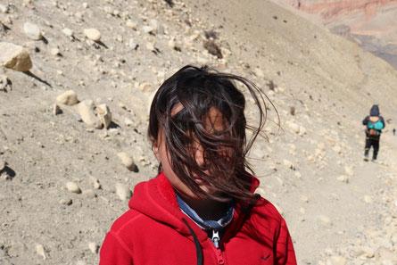 Miriam in Mustang