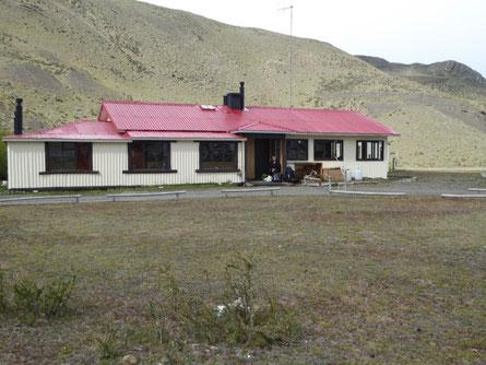 Unterkunft Torres del Paine, Vorbereitung