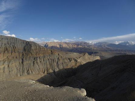 Aussicht Upper Mustang