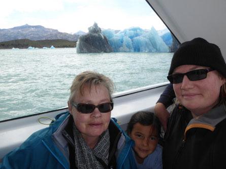 Drei Generationen auf Super-Gletscher-Tour :-)