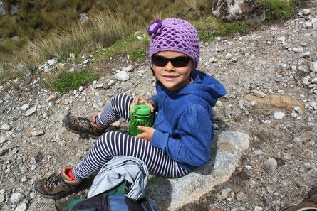 Wandern mit Kindern, Höhenwanderung mit Kind