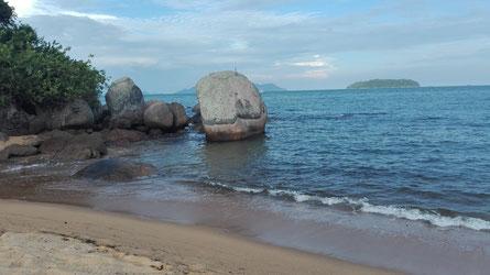 Palmas Beach auf der Ilha Grande - ein absoluter Hafen der Ruhe