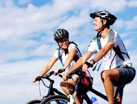 Mehr Ausdauer durch Radfahren