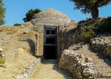 Kuppelgräber von Peristeria - Kyparissia, Peloponnes, Griechenaand