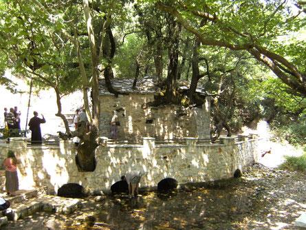 Agia Theodora - das Wunder von Vasta - Walfahrtsort, Peloponnes Griechenland