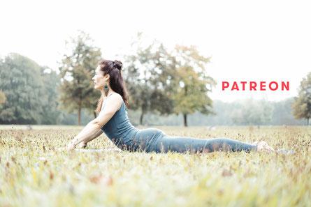 Yoga und Meditation auf Patreon mit Katja Bienzeisler