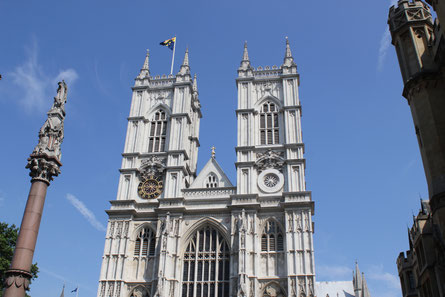 Auf der Pilgerreise nach Südengland treten die Teilnehmer in die Fußstapfen der heiligen Walburga und des heiligen Willibald. Auch eine Stadtrundfahrt in London mit der Besichtigung von Westminster Abbey steht auf dem Programm Foto: Marie-Bernadette Hügel