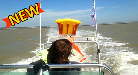 Only in La Tranche-sur-mer at WaterFun, Flyfish for the thrill and adrenalin!