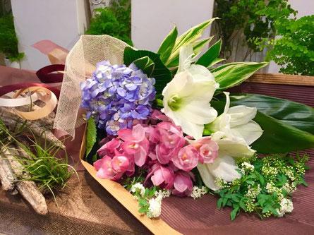 花束ロングタイプ