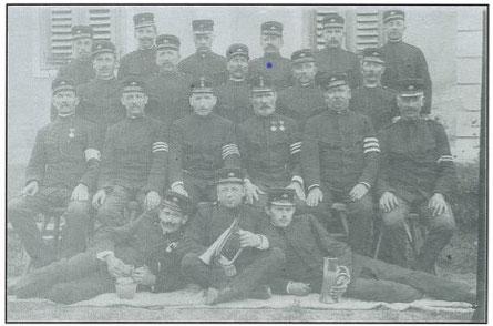 Gründungmitglieder 1905