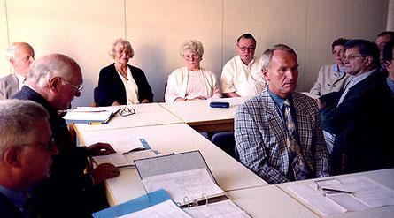 Gründungsversammlung Behindertenhilfe Dülmen am 10. Juni 1998