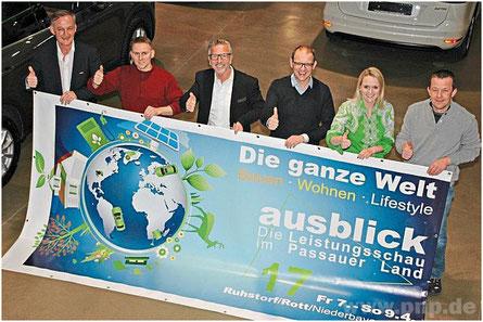 """""""Ausblick 17"""": Die Leistungsschau des Passauer Landes gewährt drei Tage lang Einblick in die Welt des Bauens, Wohnens und Lifestyles."""