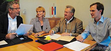 Den Unternehmer-Abend betreut auf Landkreis-Seite Heidi Taubeneder (Standort-Marketing).