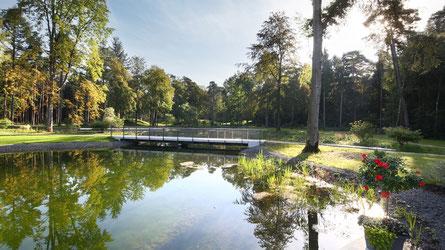 Campen und Übernachten Sie in der nähe der Landesgartenschau Bad Lippspringe