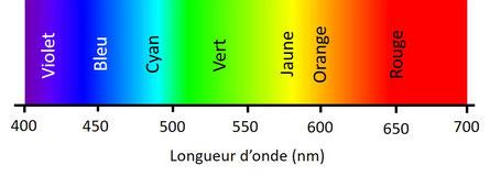 Spectre et couleurs