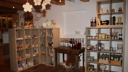 Regionale Produkte und traditionelles Handwerk im Schmutzerhaus in Mörtschach