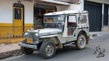 Einer der legendären Willys-Jeeps