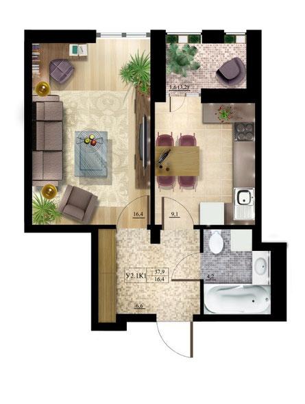 Planimetrie appartamenti benvenuti su case a riscatto kiev for Appartamenti con planimetrie