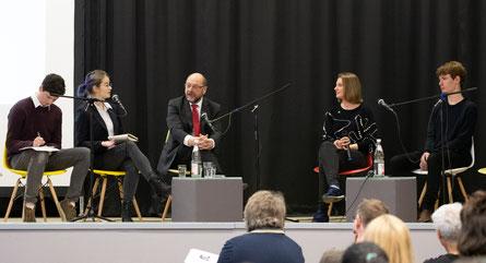 Lucas Valle Thiele, Helen Schröder, Martin Schulz, Deborah Kröger, Jakob Ballhausen