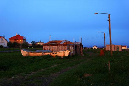 Minuit en bord de mer. Et encore, il faisait nuageux !