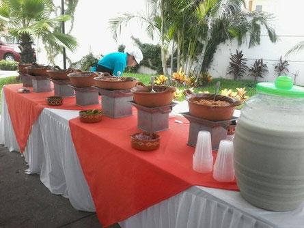 Cazuelas a domicilio