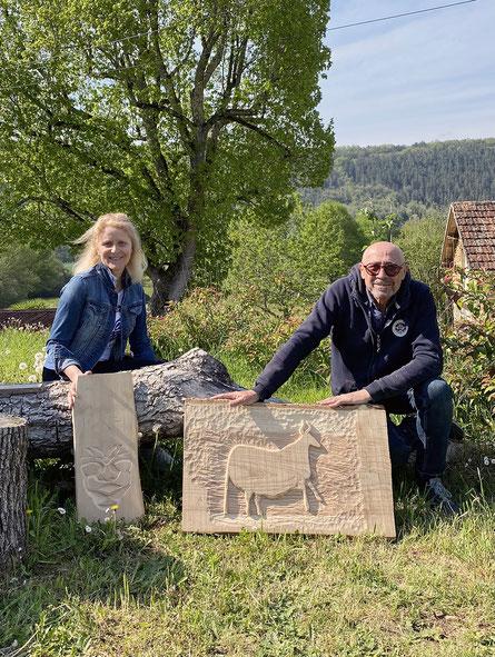 Stage à l'atelier  olivier legay sculpteur,peintre en périgord