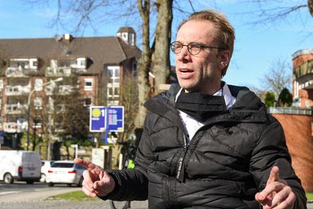 Ralf Bockstedte sicherte der Pfarrei St. Laurentius seine Unterstützung zu.