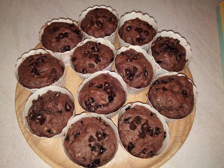 Ihre Schoko-Bananen-Muffins - die besten, die ich jemals hatte!